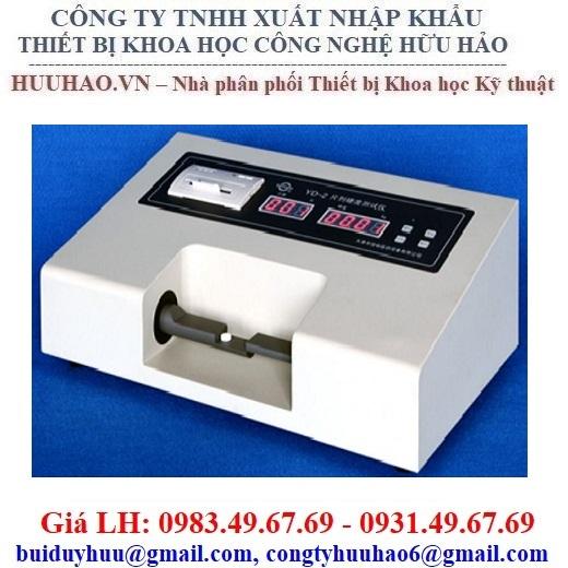Máy đo độ cứng thuốc viên YD-2