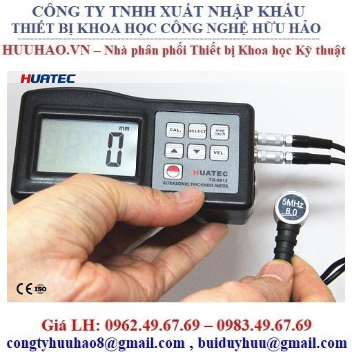 Máy đo độ dày bằng siêu âm HUATEC TG8812