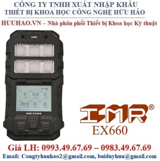 Máy đo khí độc 4 chỉ tiêu IMR EX660 Basic