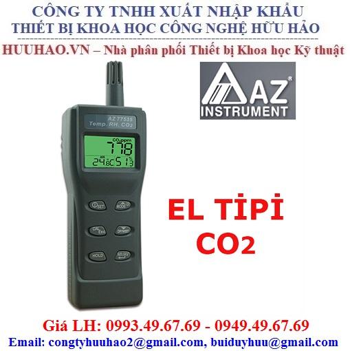 Máy đo khí CO2, nhiệt độ, độ ẩm AZ 77535
