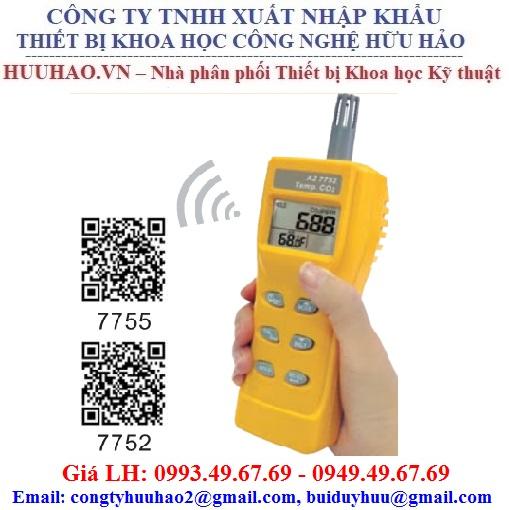 Máy đo khí CO2, nhiệt độ và Độ ẩm cầm tay AZ 7755