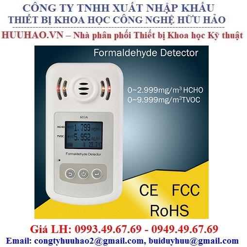 Máy đo khí Formaldehyde (HCHO) trong không khí