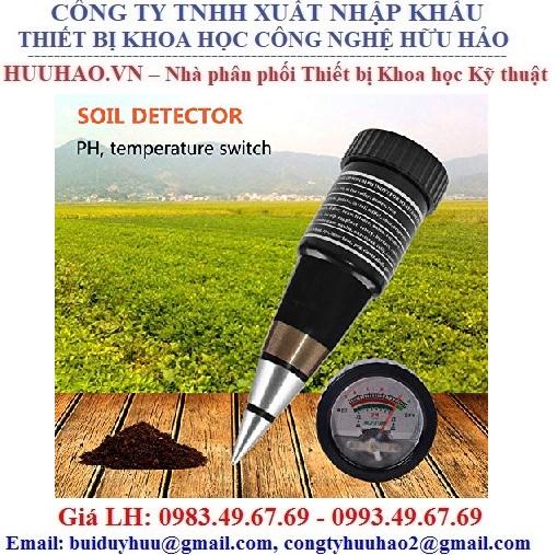 Máy đo pH và độ ẩm đất cầm tay VT-05