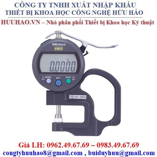 Đồng hồ đo độ dày vật liệu điện tử Mitutoyo 547-300S