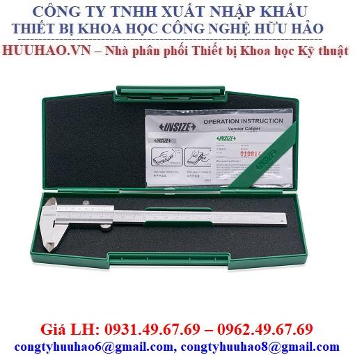 Thước cặp cơ khí Insize 1205-1502S, 1205-2002S