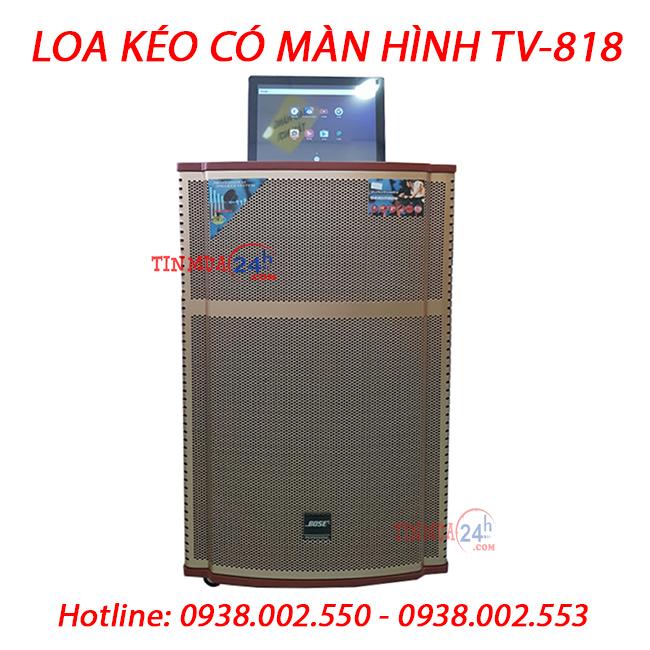 Loa Kẹo Kéo Có Màn Hình TV-818 - 278519