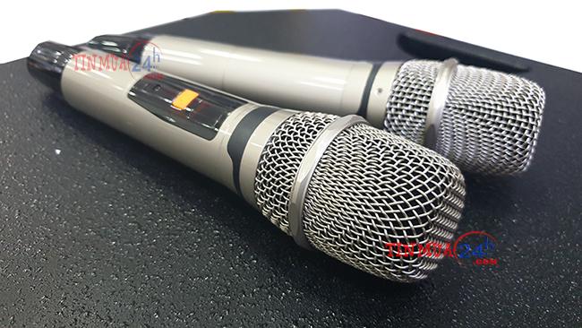 Loa kéo hát karaoke di động DK-6868Pro, công suất lớn