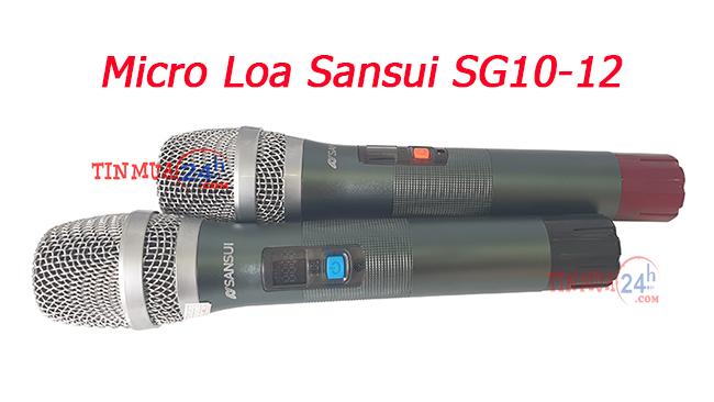 Loa keo keo Sansui SG10-12 chính hãng, giá tốt tại Tinmua24h - 4