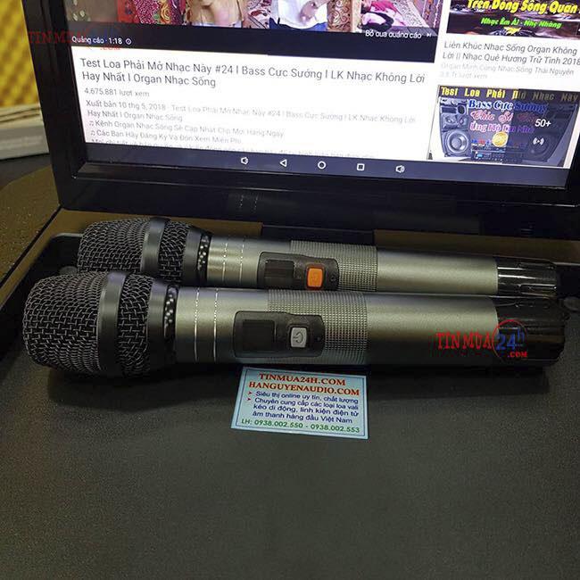 Loa kéo 2 bass có màn hình HNA TV-8215 - 269301