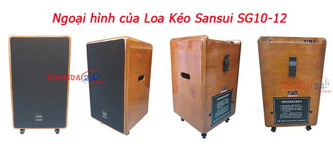 Loa keo keo Sansui SG10-12 chính hãng, giá tốt tại Tinmua24h - 2