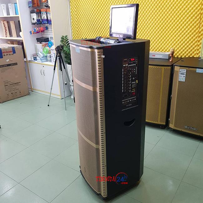 Loa kéo di động có màn hình Hosan DX 2-9915 - 246103