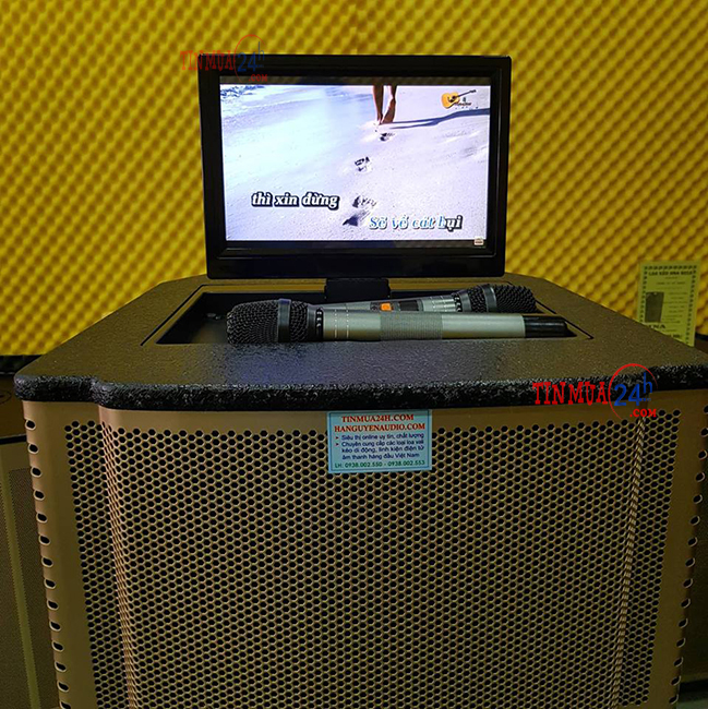 Loa kéo di động có màn hình Hosan DX 2-9915 - 246104