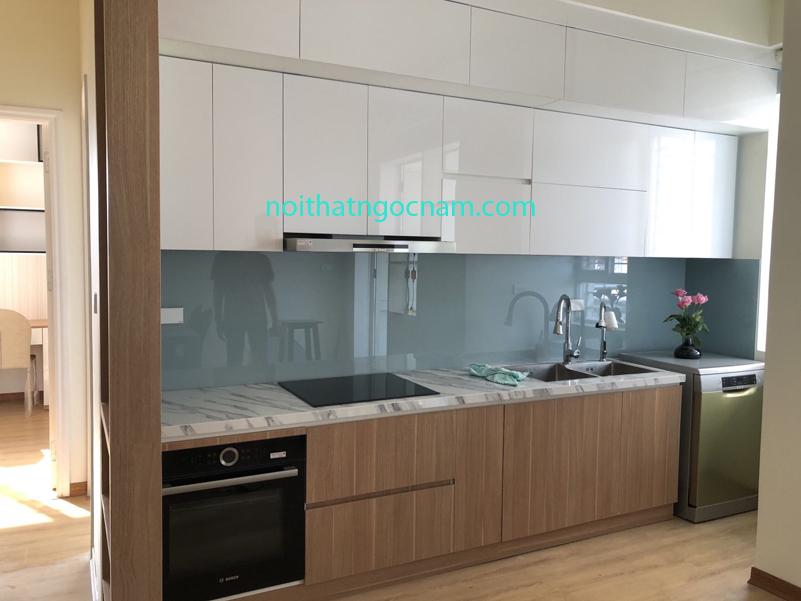 Tủ bếp Laminate độ bền cao