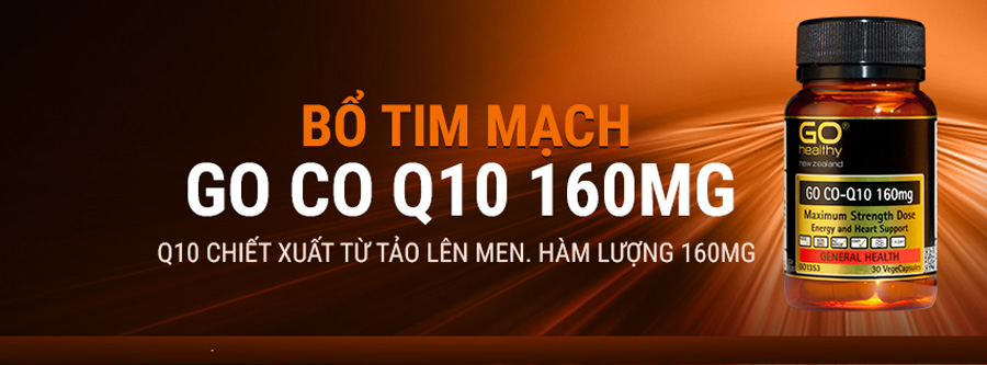 Bo tim mach GO Co Q10 160mg New Zealand