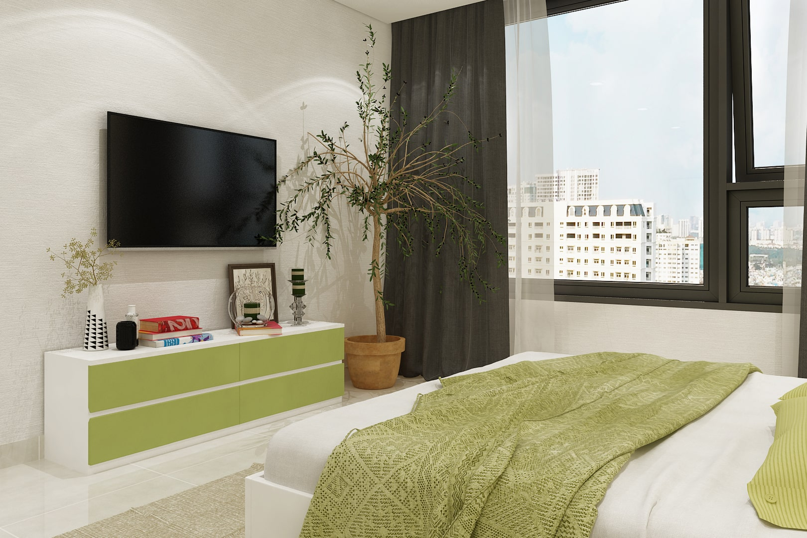 Set nội thất phòng ngủ PN-07.073T