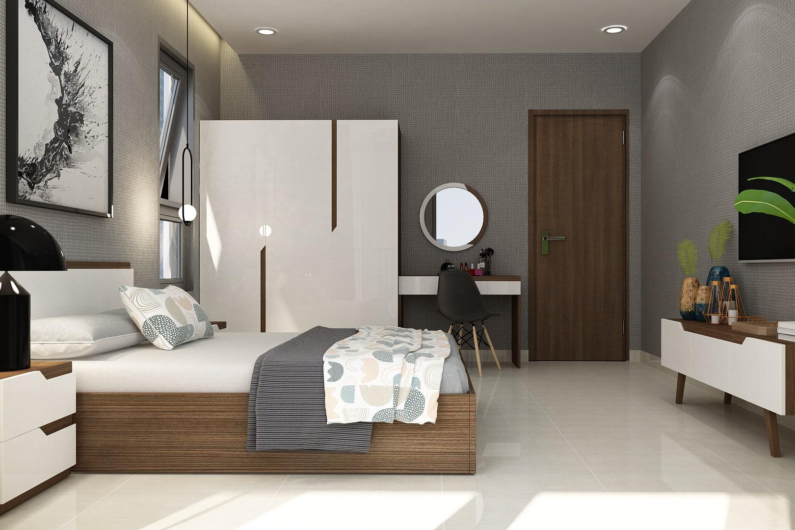 Set nội thất phòng ngủ PN-01.640 WN