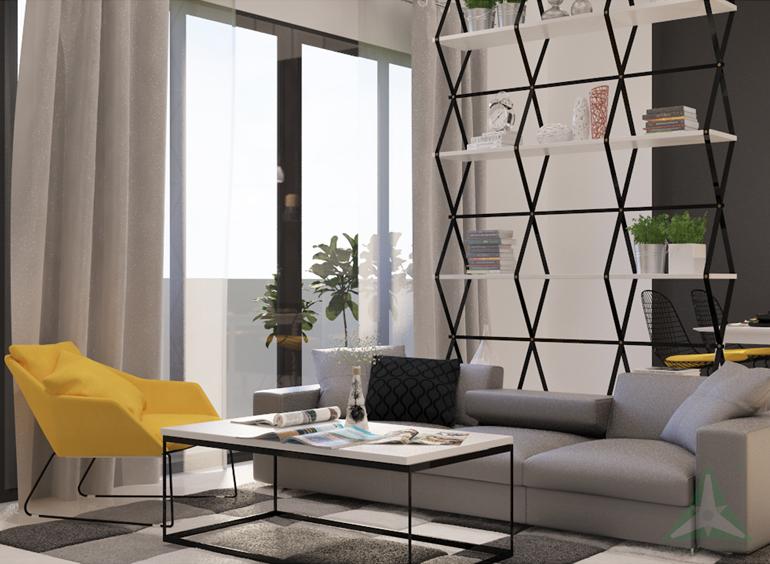 chuyên thiết kế nội thất chung cư