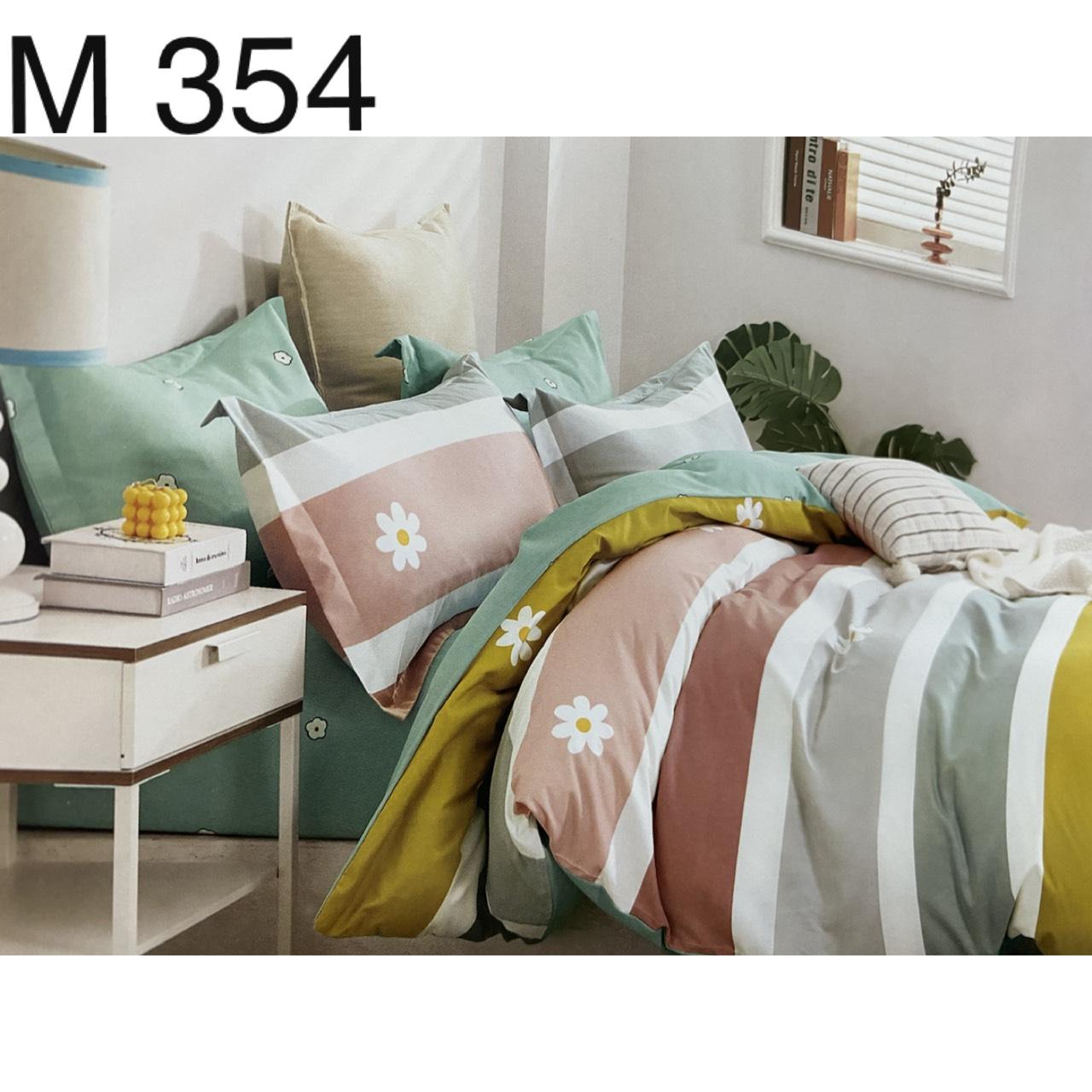 Bộ Chăn Ga Cotton Đũi Loại 1 Hàn Quốc - M354