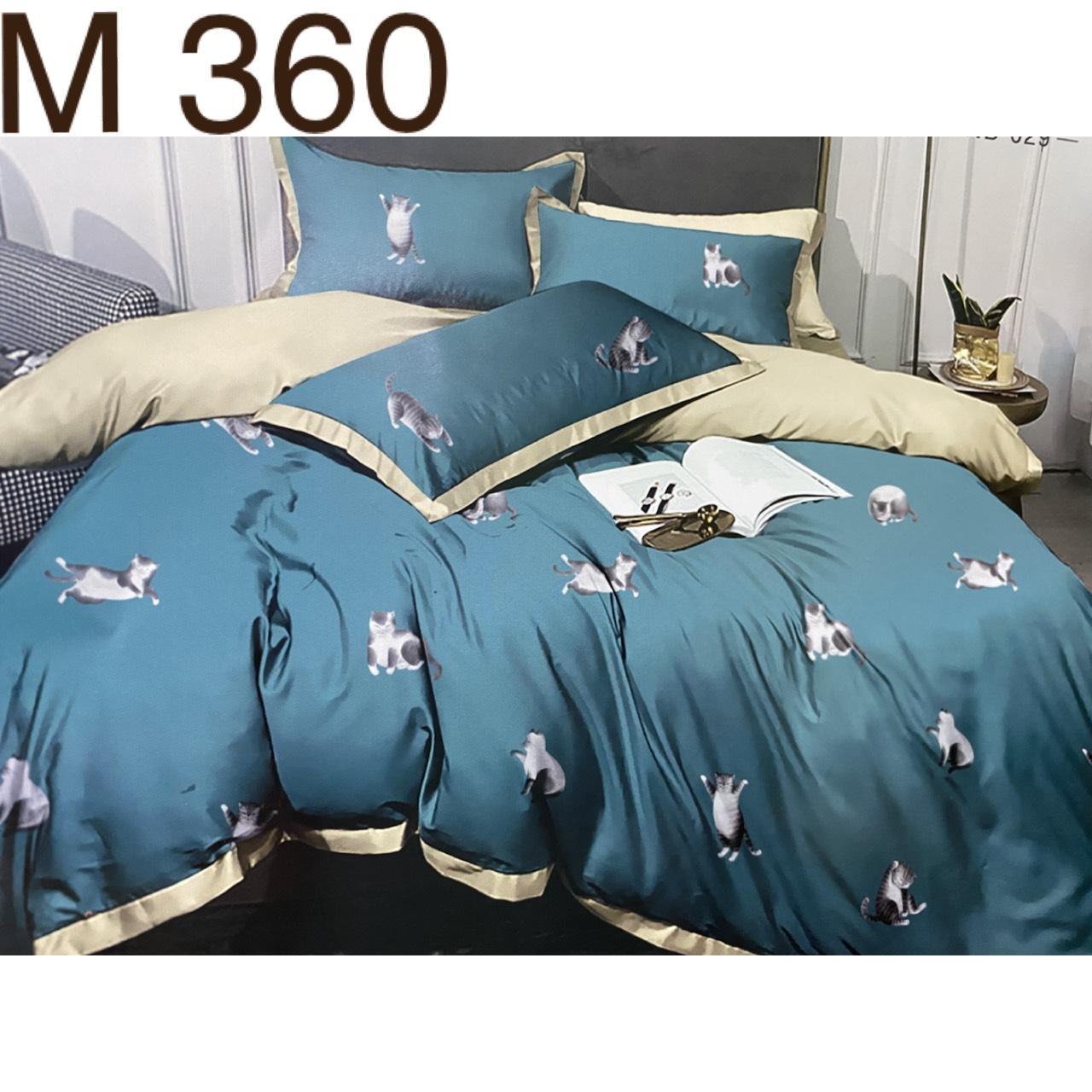 Bộ Chăn Ga Cotton Đũi Loại 1 Hàn Quốc - M360