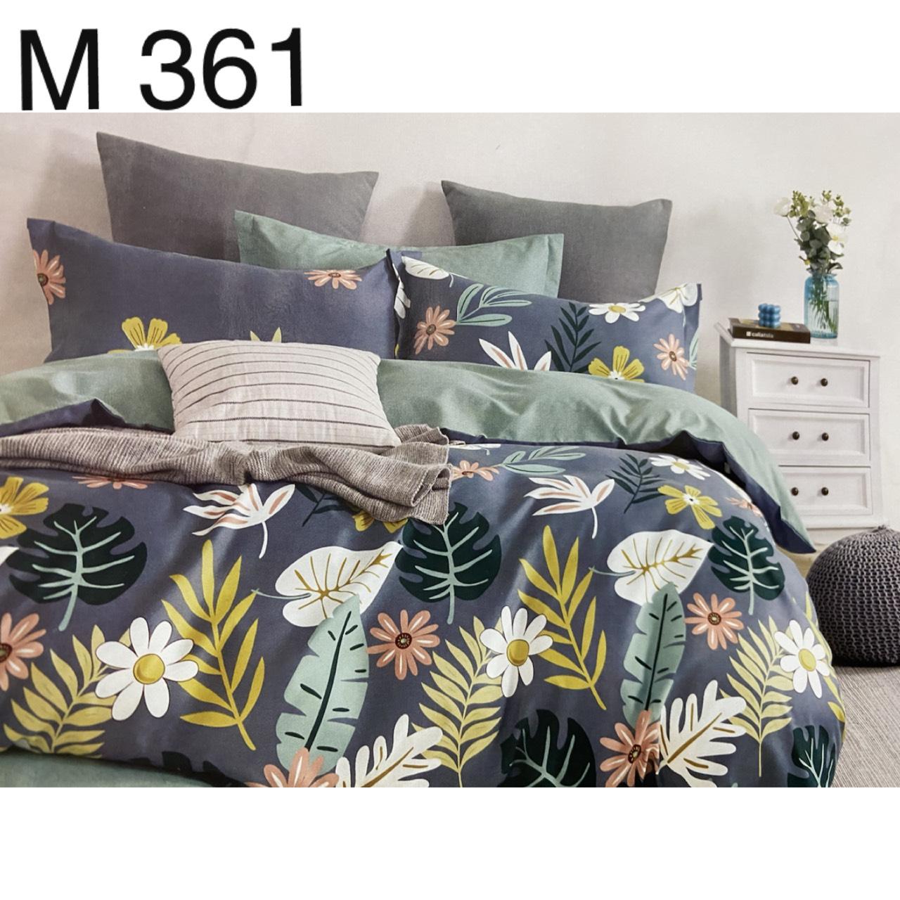 Bộ Chăn Ga Cotton Đũi Loại 1 Hàn Quốc - M361