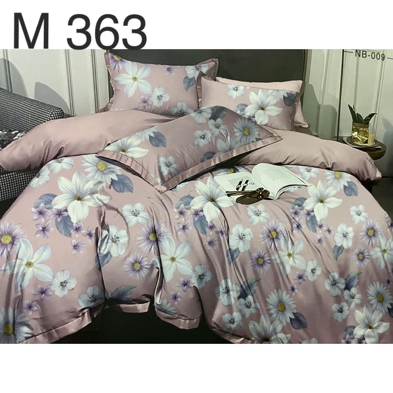 Bộ Chăn Ga Cotton Đũi Loại 1 Hàn Quốc - M363