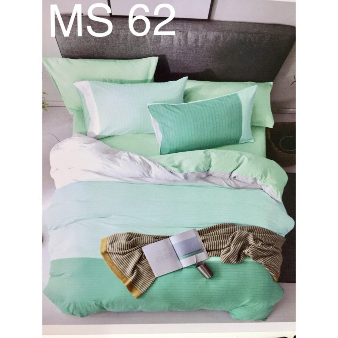 Bộ Chăn Ga Cotton Đũi Loại 2 Hàn Quốc - MS62
