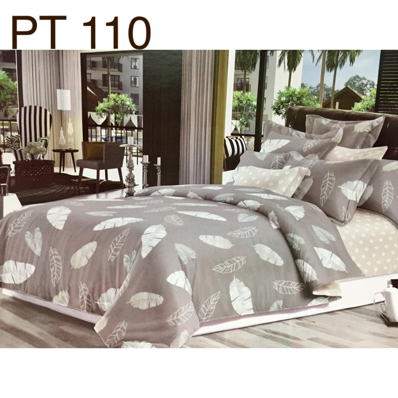 Bộ Chăn Ga Phủ Cotton Hàn Quốc - PT110