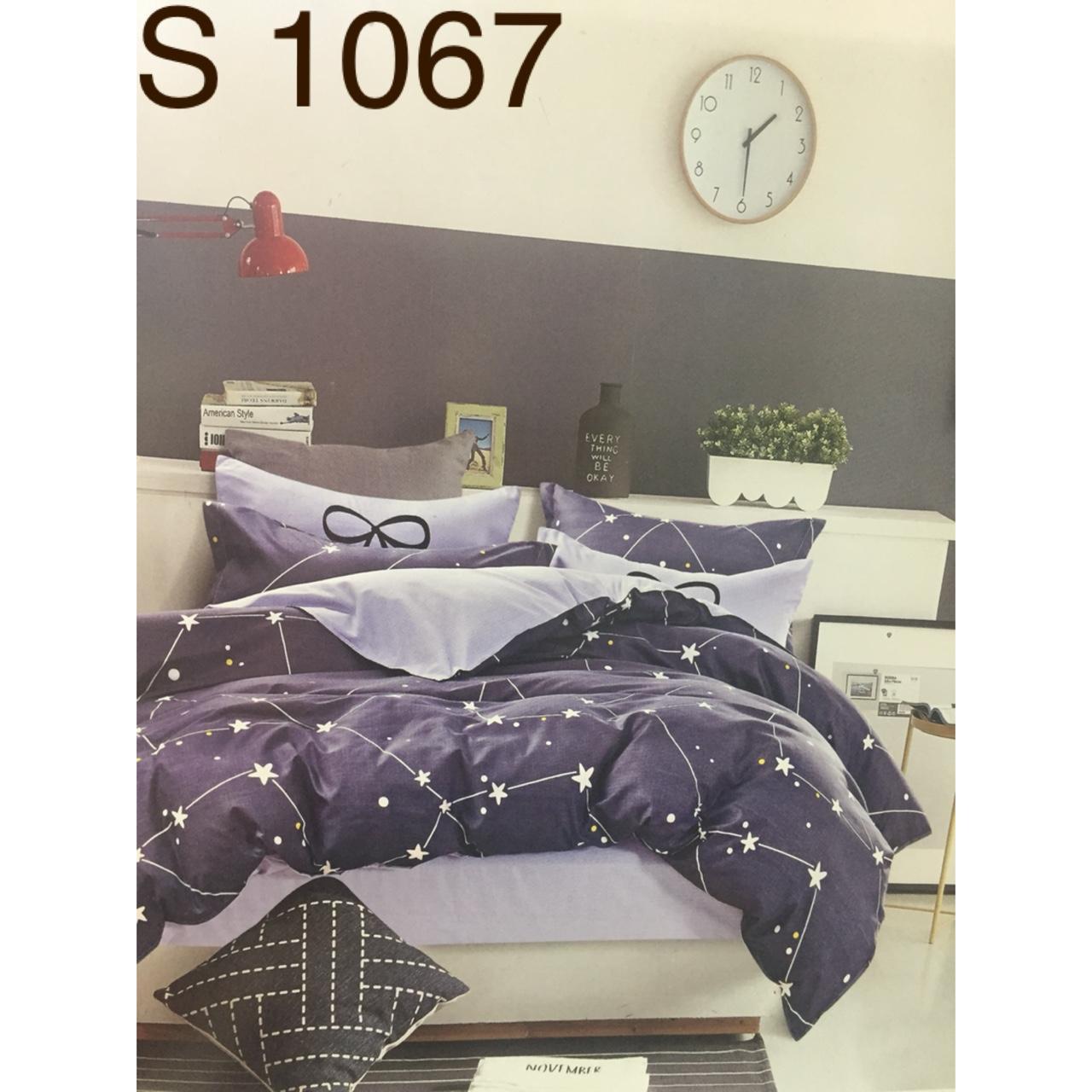 Bộ Chăn Ga Cotton Poly Hàn Quốc - Kí Hiệu: S1067