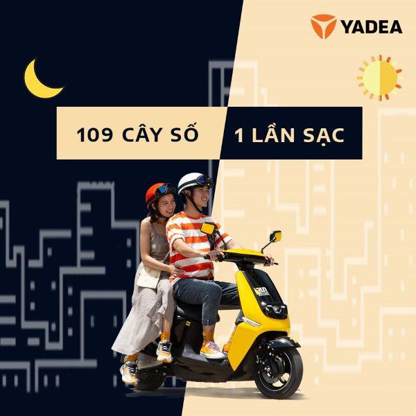 Xe máy điện Yadea Ulike