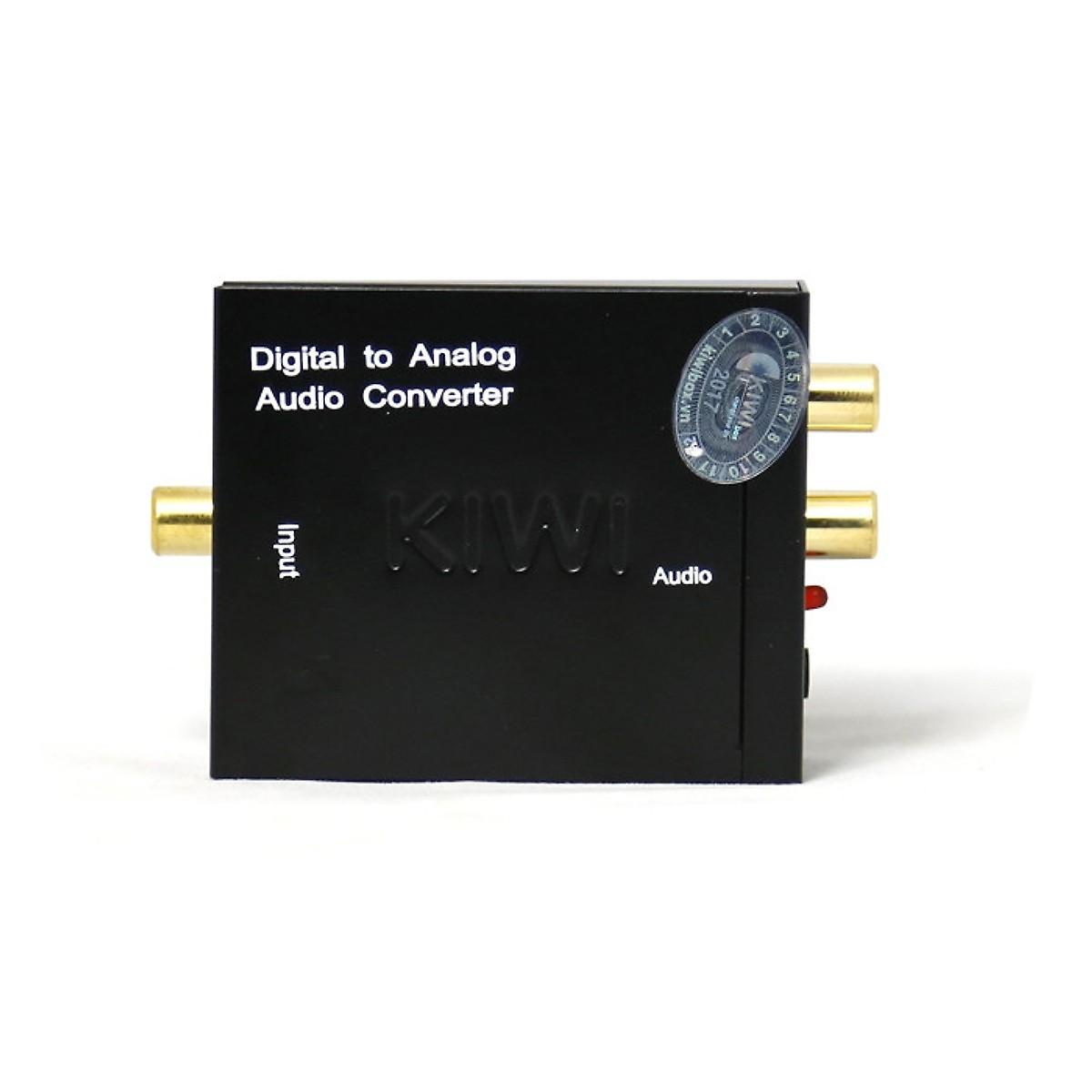 Bộ chuyển âm quang sang AV - KIWI KA02 + zắc 3.5