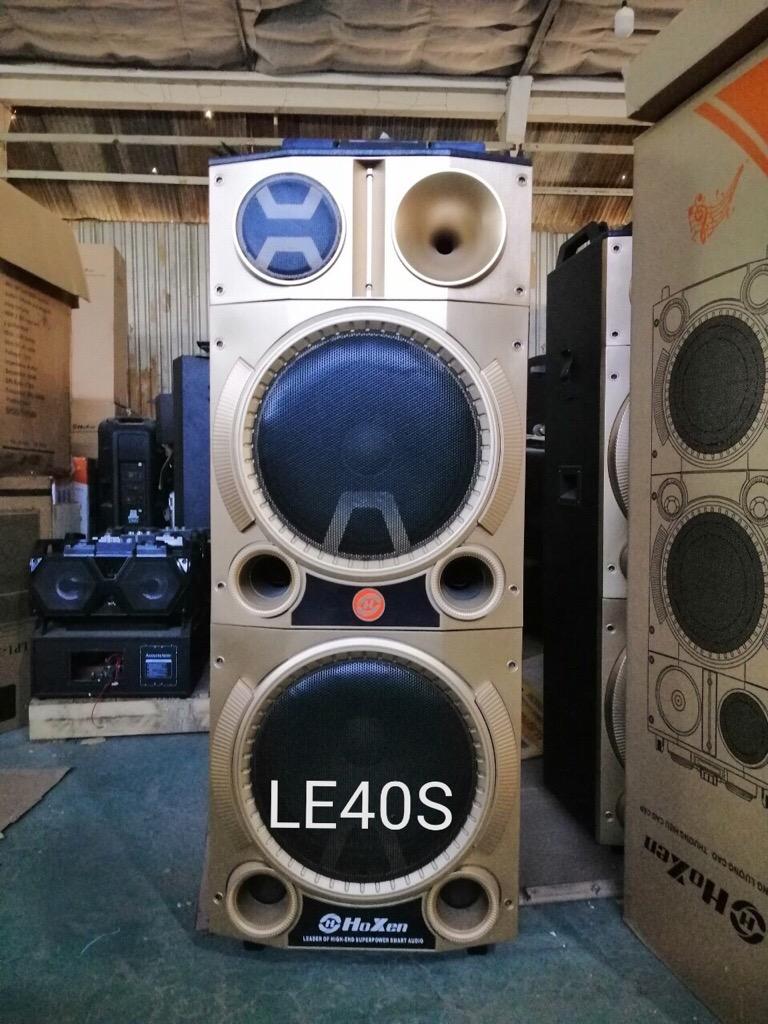 Loa karaoke di động cao cấp Hoxen LE-40S nghe nhạc hát karaoke cực hay giá sỉ và lẻ rẻ nhất