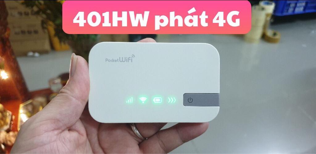 Phát wifi 401HW chuẩn 4G tốc độ cao giá sỉ và lẻ rẻ nhất