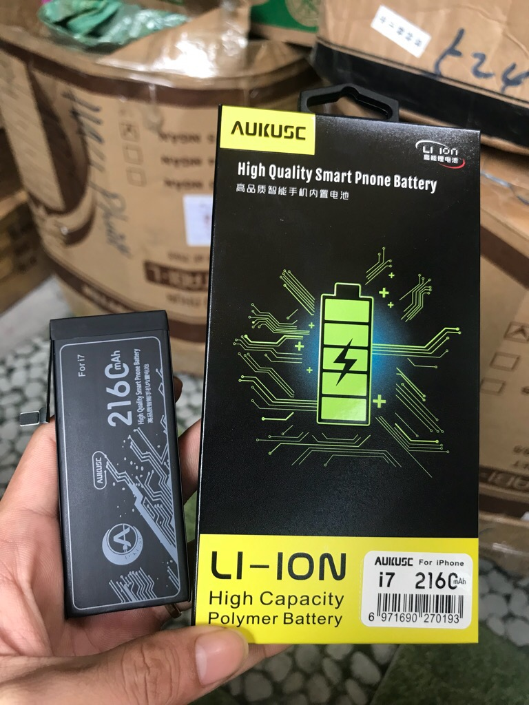 Pin Aukus chính hãng iPhone 7 Plus giá sỉ và lẻ rẻ nhất