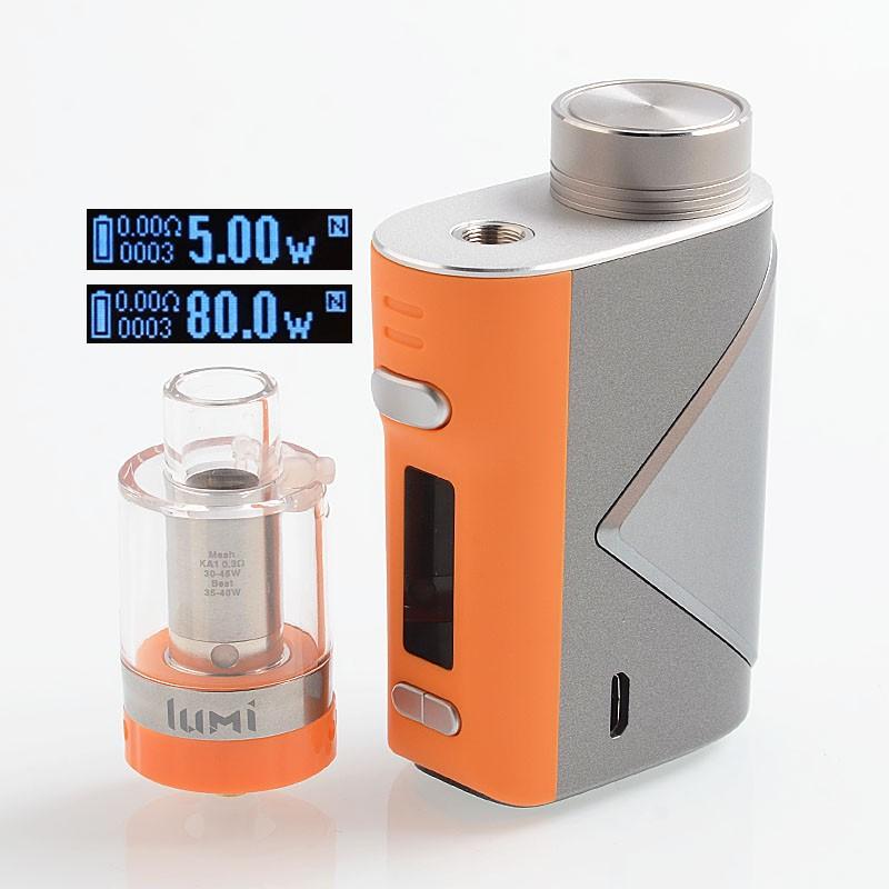 Geekvape Lucid 80W TC Kit Tank Lumi [Authentic] chính hãng giá sỉ và lẻ rẻ nhất