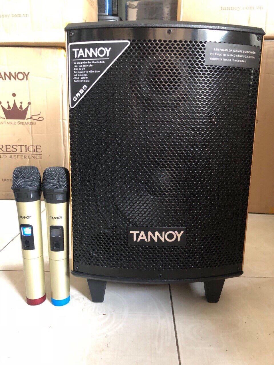 Loa kéo di động Tannoy TN08, bass 2 tấc, 2 mic led uhf giá sỉ và lẻ rẻ nhất
