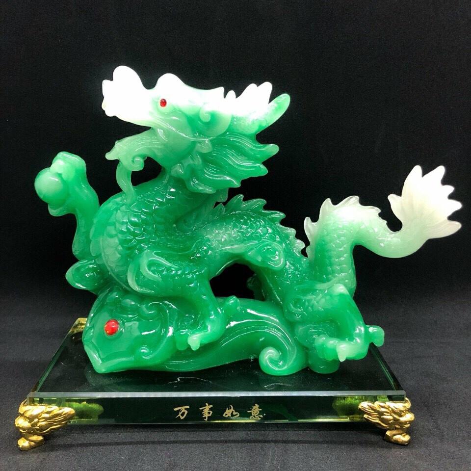 Phong thủy - Con rồng kích thước 108×75 x134mm (Đặt trước) giá sỉ và lẻ rẻ nhất