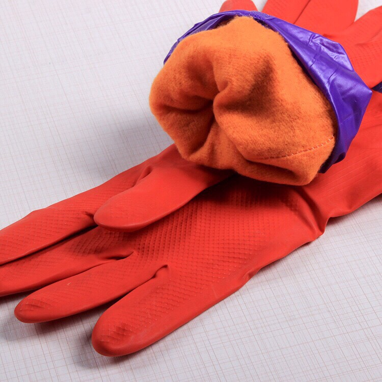 Găng tay cao su lót nhung bên trong giá sỉ và lẻ rẻ nhất