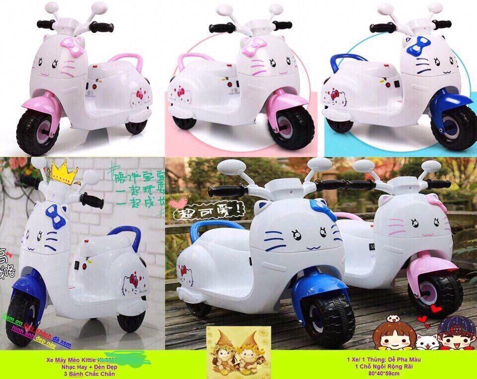 Xe điện mèo Kitty KT-2125 (call trước 2 tiếng) giá sỉ và lẻ rẻ nhất