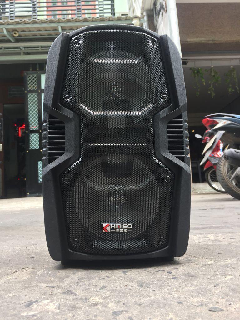 Loa kéo karaoke KIMISO QS806 (kèm 1 mic có dây rời) giá sỉ và lẻ rẻ nhất