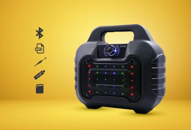 Loa bluetooth karaoke HY05 (mic mua riêng) - tk2 giá sỉ và lẻ rẻ nhất