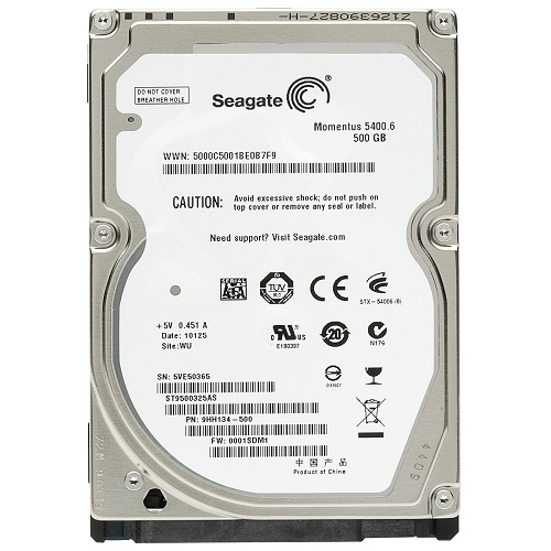 Ổ cứng HDD laptop Seagate 500GB/5400