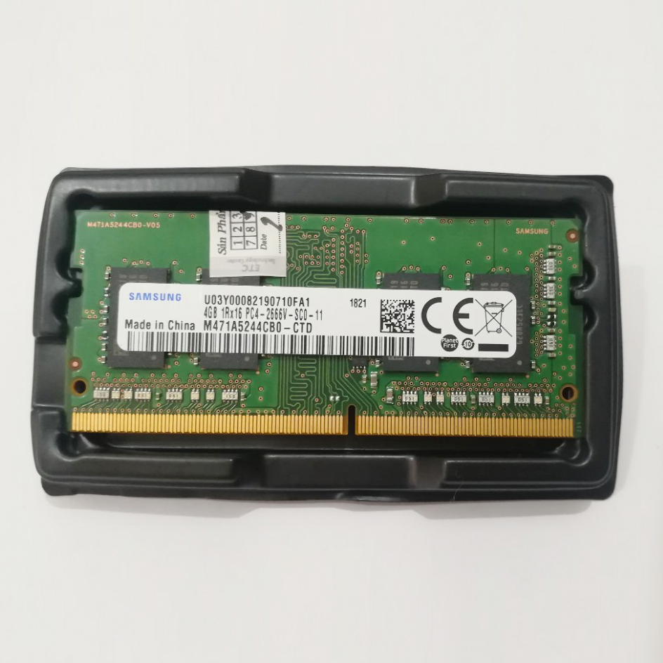 Ram laptop samsung DDR4 4GB bus 2666Mhz