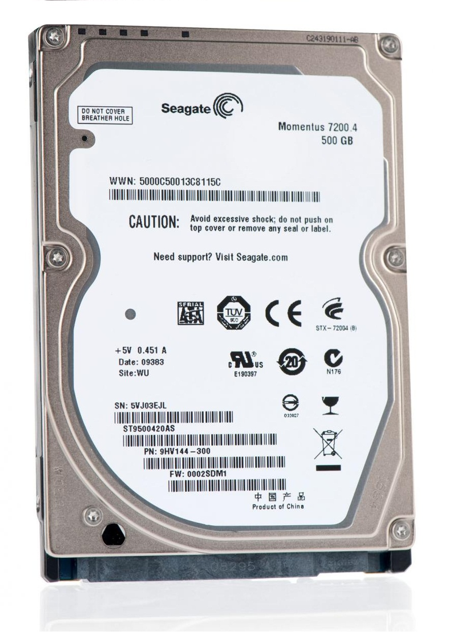 Ổ cứng HDD Laptop Seagate 500GB/7200