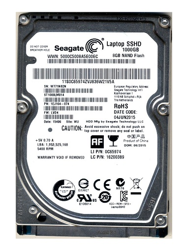 Ổ cứng HDD Laptop Seagate 1TB/5400
