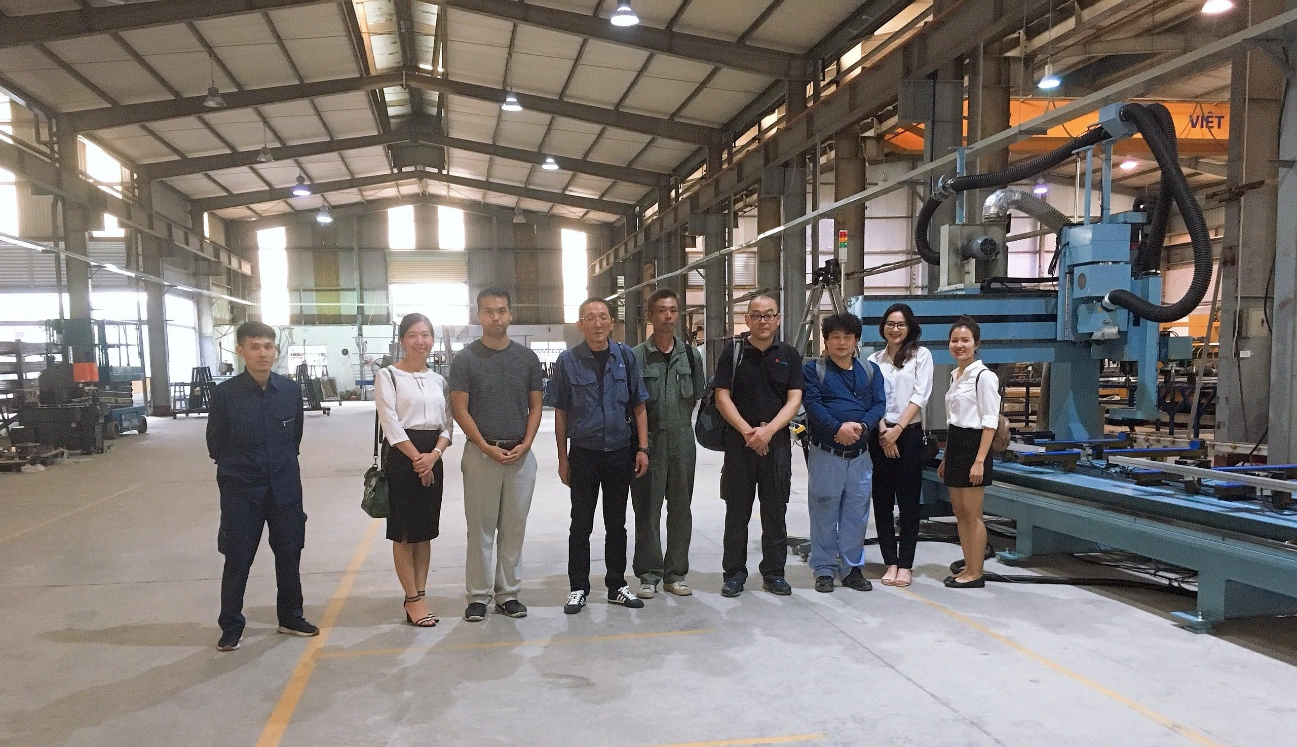 kongo-vietnam-completed-the-commissioning-of-machinery-line-imported-from-japan