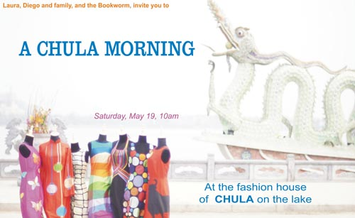 Bookworm Festival – Chula Morning