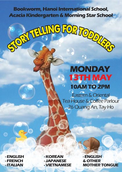 Mother Tongue & English Story-telling for Toddlers""