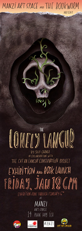 "Exhibition & Book Launch ""The Lonely Langur"""
