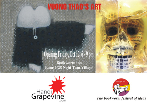Reminder: Vuong Thao's Art at Bookworm Too