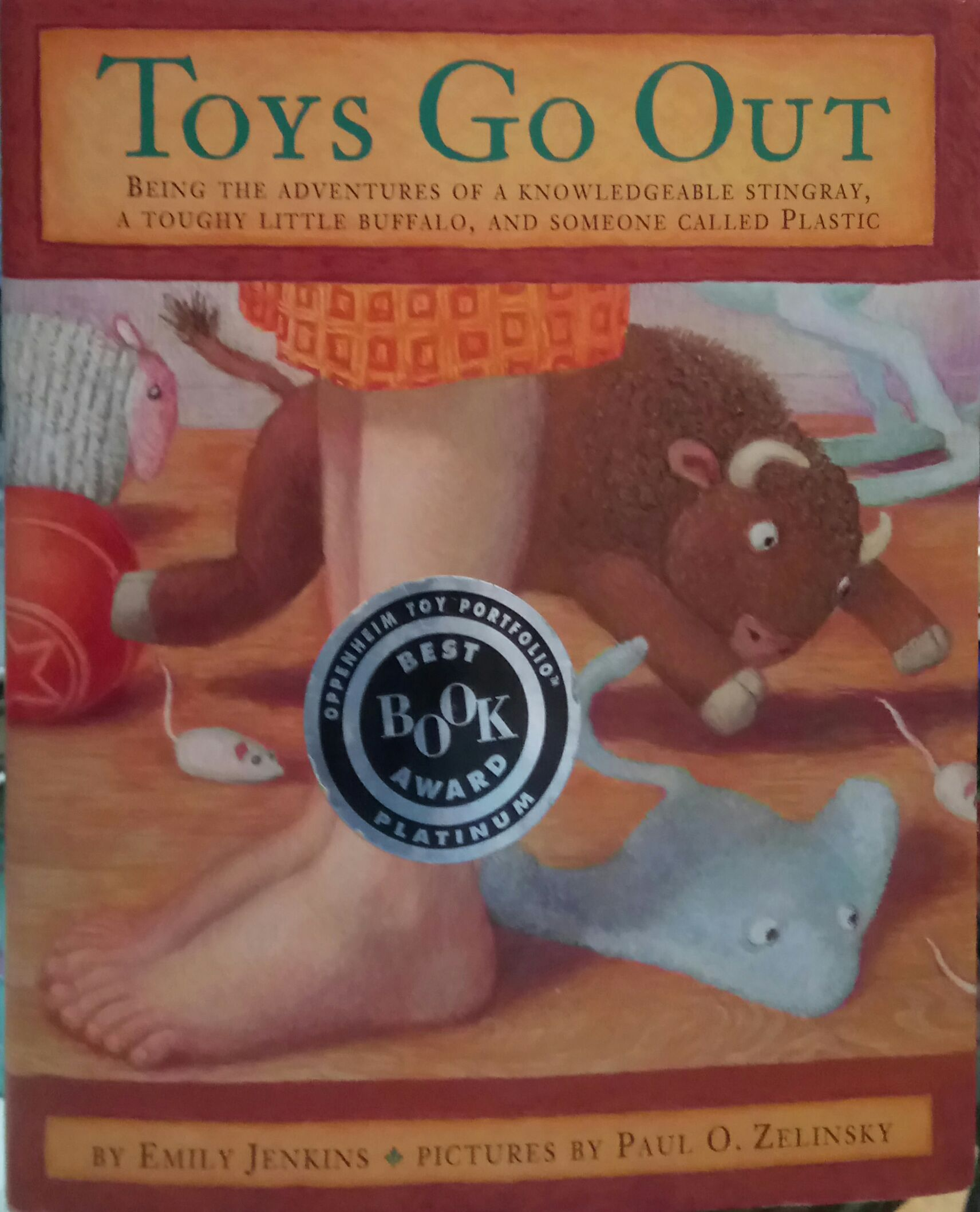 Toys Go Out By Emily Jenkins Bookworm Hanoi
